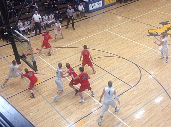 The Negaunee Miners Boys Basketball vs Marquette Redmen 12/17/15 on Sunny.FM.