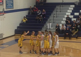 The Negaunee Miners won 48-47 against the Norway-Vulcan Knights on Sunny.FM.