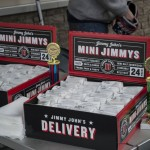 Jimmy John's delivered a ton of subs on the house!