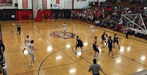 The Negaunee Miners won 49-39 against the Marquette Redmen on Sunny.FM.