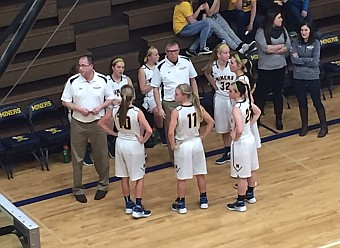 The Negaunee Miners won 56-44 over the Norway-Vulcan Knights on Sunny.FM.