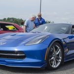One of the two 2016 corvettes on the lot