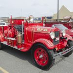 Ah old fire truck from BFD