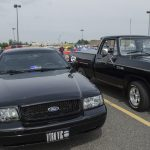 An old crown vic