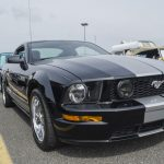 There was a nice shelby mustang too!