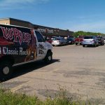 Sunny was blasting music today at Econo Foods!