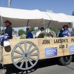 Lowell Larson for Sheriff Float