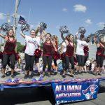 Westwood Alumni Float