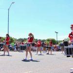 The Marquette Senior High Drum line