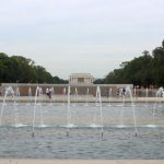 Lincoln Memorial in the distance