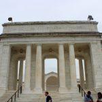 The Entrance to the  Arlington cemetery amphitheater