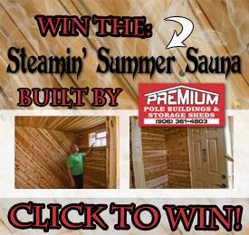 2016 Steamin' Summer Sauna Giveaway