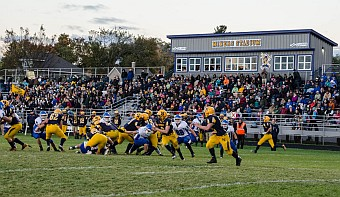 The Negaunee Miners Football Team won 28-16 against the Ishpeming Hematites on Sunny.FM. GO MINERS!!