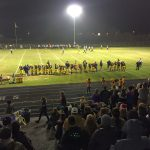 The Negaunee Miners taking on the Charlevoix Rayders