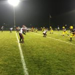 The Negaunee Miners on offense