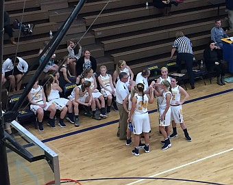 The Negaunee Miners Girls Basketball Team won 59-38 over the Gladstone Braves in the opening game of the season on Sunny.FM. GO MINERS!!!