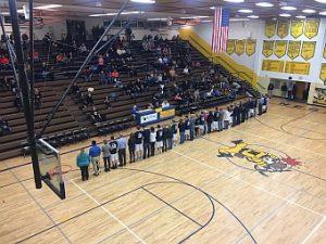 The Negaunee Miner Boys Basketball VS Gwinn Modeltowners on Sunny.FM. 12/20/16