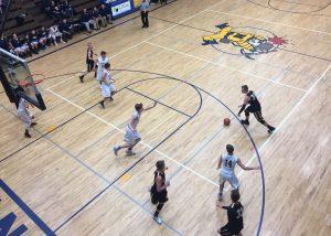 The Negaunee Miners Boys Basketball Team won 71-47 over the Gwinn Modeltowners on Sunny.FM.