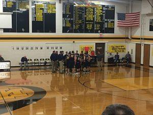 Negaunee Miners Boys Basketball VS Iron Mountain Mountaineers on Sunny.FM. 01/24/17