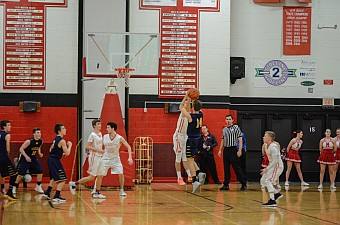 Negaunee Miners Boys Basketball Vs Marquette Redmen 01/16/17