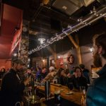 The Ore Dock Brewing Co. was packed during their UP200 Warming Party.