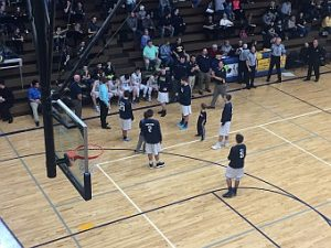 The Negaunee Miners Boys Basketball team won 73-68 against the Iron Mountain Mountaineers on Sunny.FM.