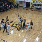 Negaunee Miners Boys Basketball VS Iron Mountain Mountaineers on Sunny.FM 02/28/17