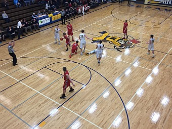 Negaunee Miners Boys Basketball VS Westwood Patriots 02/22/17 on Sunny.FM.