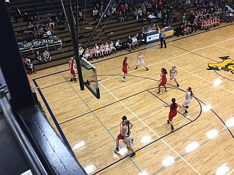 Negaunee Miners Girls Basketball VS Marquette Redettes 02/21/17 on Sunny.FM.