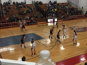Negaunee Miners Girls Basketball VS Westwood Patriots 02/17/17 on Sunny.FM.