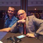 Sales Representative Jerry Spruitenburg and Great Lakes Radio CEO Todd Noordyk