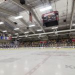 The Lakeview Hockeyville Arena in Marquette for Pigs-N-Heat 34!