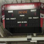It's 1 to 1 on the scoreboard.