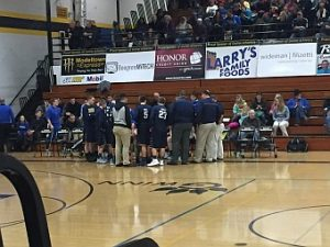 The Negaunee Miners Boys Basketball team won 65-41 over the Munising Mustangs. GO MINERS!!
