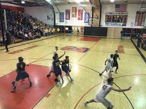 Negaunee Miners Boys Basketball VS Iron Mountain Mountaineers on Sunny.FM 03/15/17