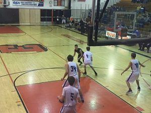 Negaunee Miners Boys Basketball VS Calumet Copper Kings on Sunny.FM 03/13/17