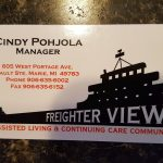 Contact Cindy to learn more about Freighter View.