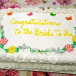 Congrats to the Bride to be!