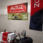 Four Seasons Small Engine was promoting the new Altoz Track Mower