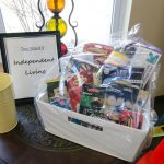 Here's the Independent Living gift basket up for raffle!