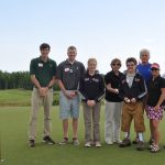 Some of the kids from Bay Cliff during the 9th annual outing.