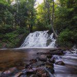 Morgan Falls in Marquette, Michigan - Saddleback Photography