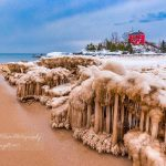 Astounding Ice Formations at McCarty's Cove and Marquette Harbor Lighthouse in Marquette, MI - Dan Wilson