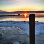 Sunrise over Lake St. Claire - Photo by Father Photo Detroit