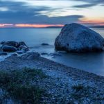 Blue Hour at McGulpin Point on Lake Michigan in Mackinaw City - Photo by MPL Photography
