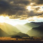 Sunlight breaking through the clouds over Moraine Meadow in RMNP, Colorado - Jeffrey Dobbs - Intrigue Photography