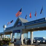 The Shepler's Mackinac Island Ferry entrance  (photos from Shepler's Mackinac Island Ferry)
