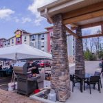 It was a perfect day for a grand opening and cook out!