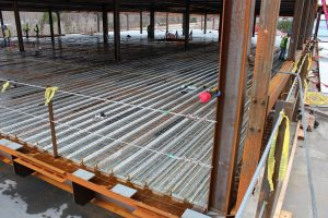Ready for a Concrete floor to be poured