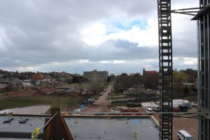 Downtown Marquette from the 4th floor